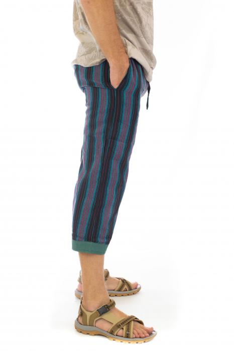 Pantaloni tip salvari trei sferturi - Model 4 2