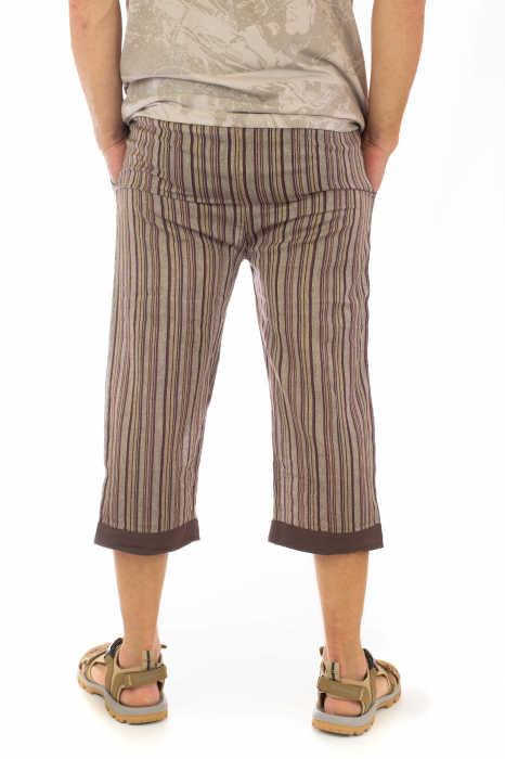 Pantaloni tip salvari trei sferturi - Model 7 1