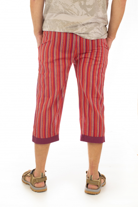 Pantaloni tip salvari trei sferturi - Model 9 3