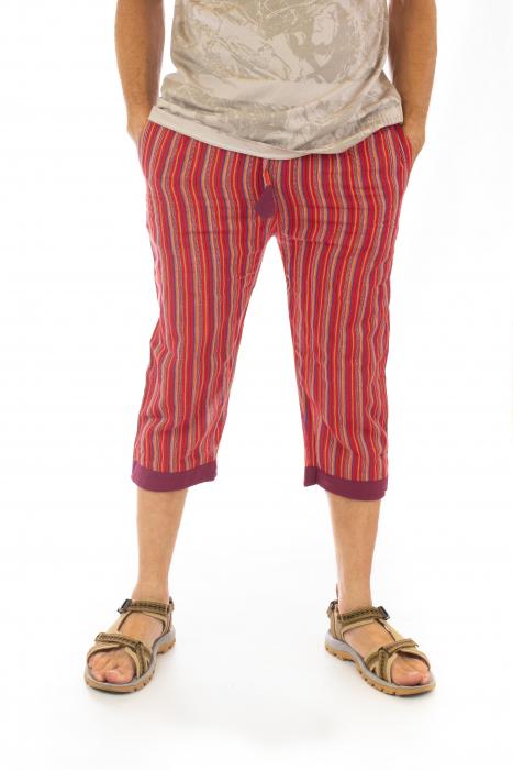 Pantaloni tip salvari trei sferturi - Model 9 0