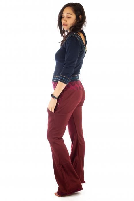 Pantaloni rosi - Mandala rosie 2