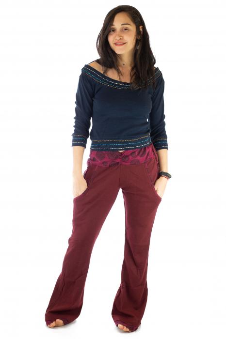 Pantaloni rosi - Mandala rosie 1