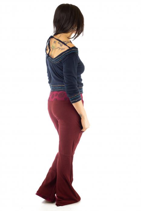 Pantaloni rosi - Mandala rosie 6