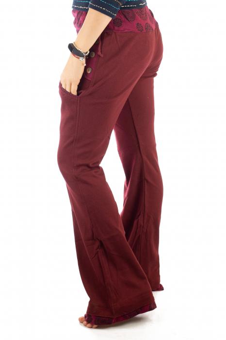 Pantaloni rosi - Mandala rosie 3