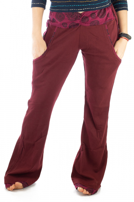 Pantaloni rosi - Mandala rosie 0