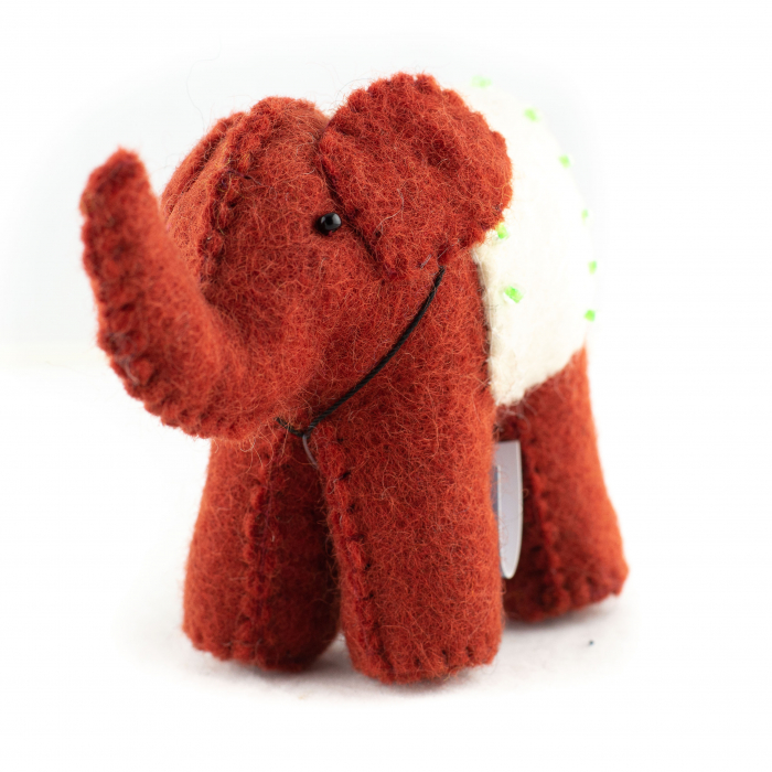 Jucarie din feltru - Elefant 1