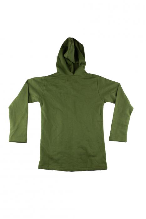 Hanorac copii - Verde 1