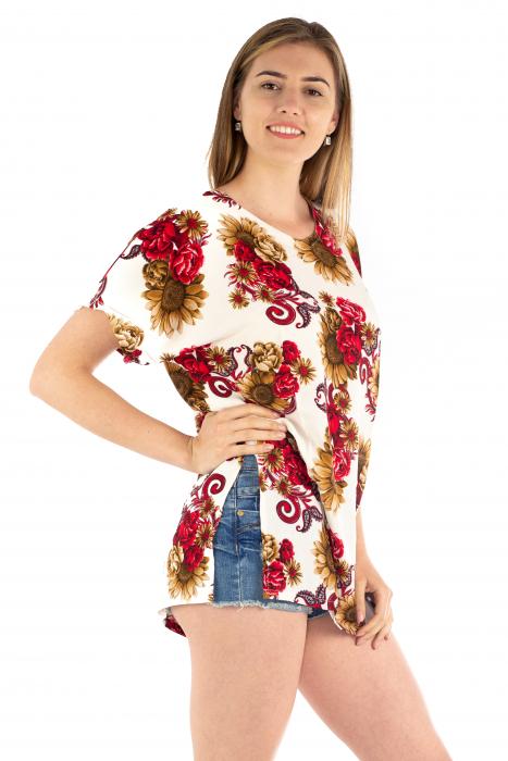 Poncho din Rayon - Floarea Soarelui [2]