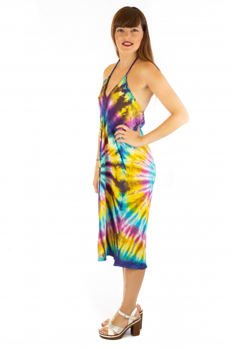 Rochie de vara Tie Dye - Rainbow 1