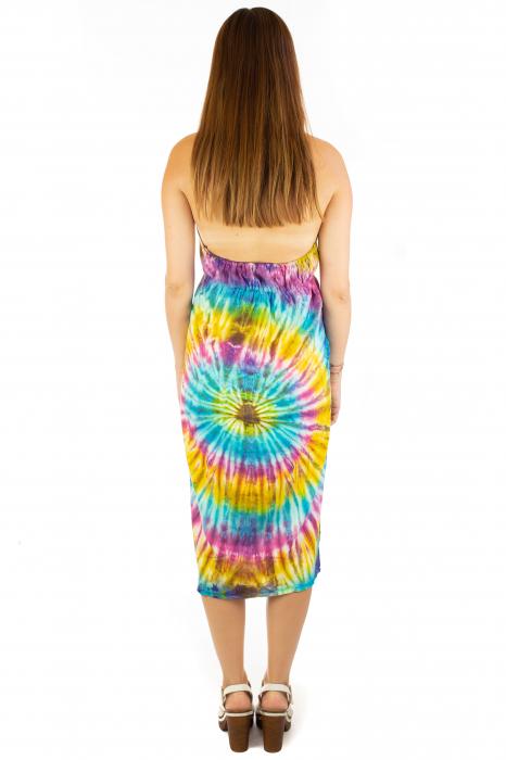 Rochie de vara Tie Dye - Rainbow 3