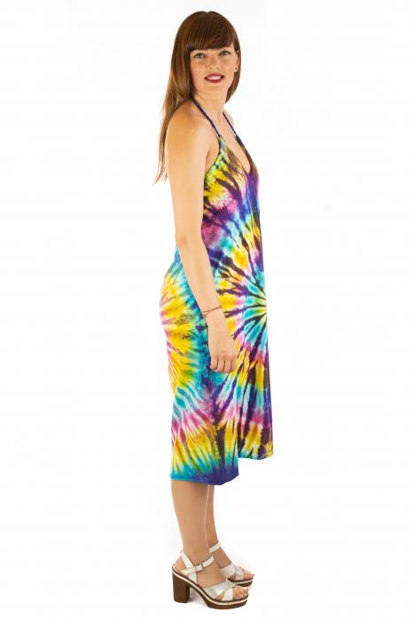 Rochie de vara Tie Dye - Rainbow 2