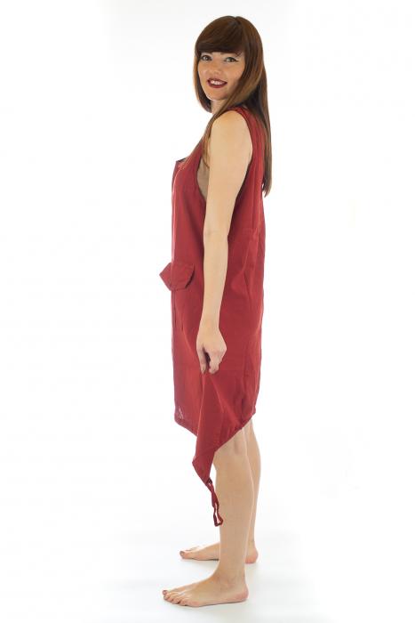 Rochie asimetrica in colturi - Rosie [2]