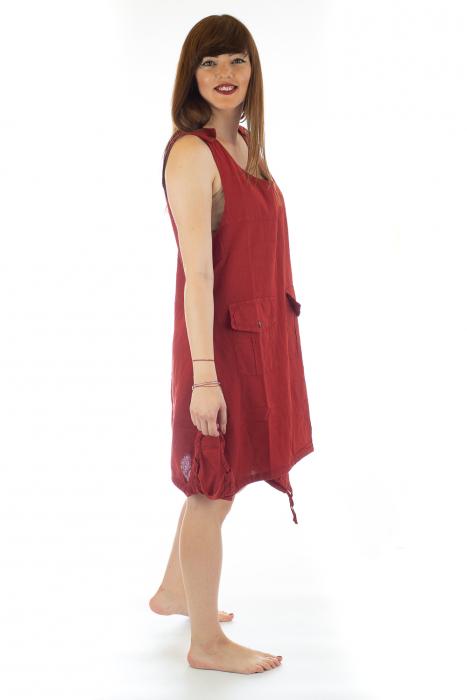 Rochie asimetrica in colturi - Rosie [3]
