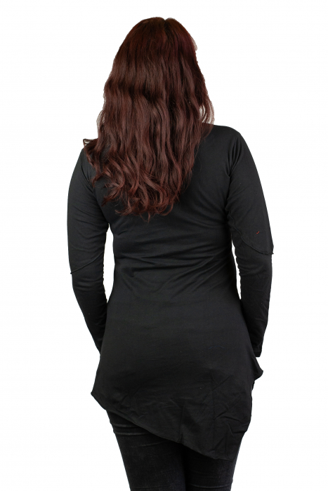 Rochie cu maneca lunga - Neagra 2