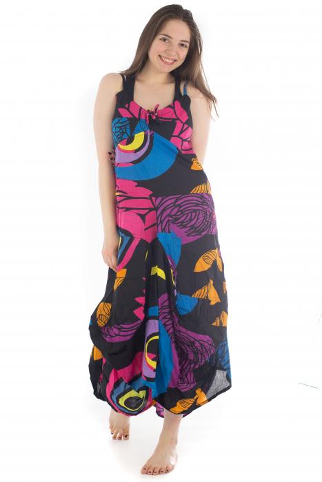 Rochie de plaja lejera - Multicolora HI1494A 1