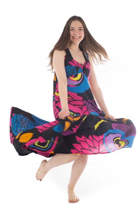Rochie de plaja lejera - Multicolora HI1494A 7