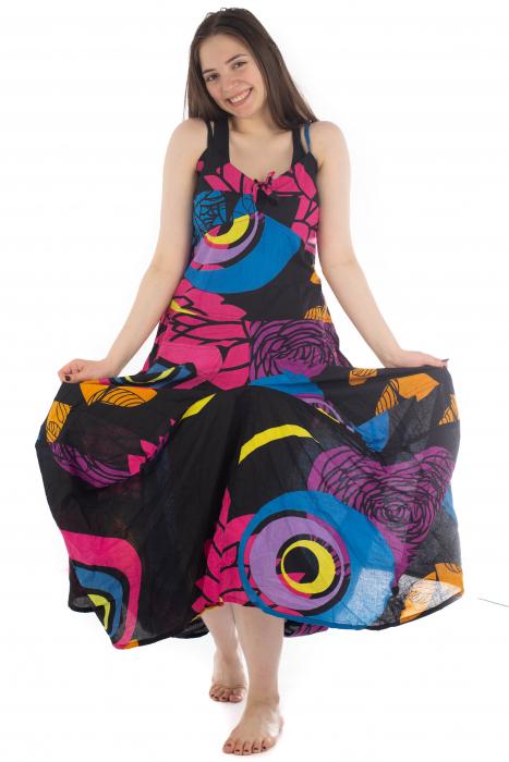 Rochie de plaja lejera - Multicolora HI1494A 4