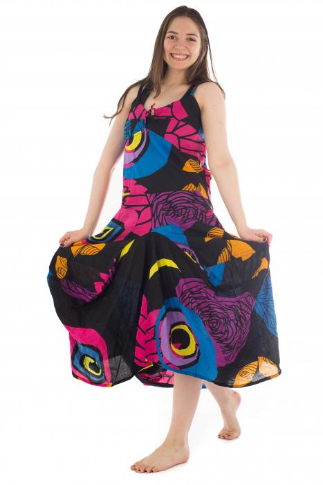 Rochie de plaja lejera - Multicolora HI1494A 6