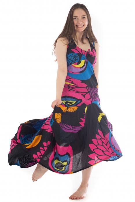 Rochie de plaja lejera - Multicolora HI1494A 0