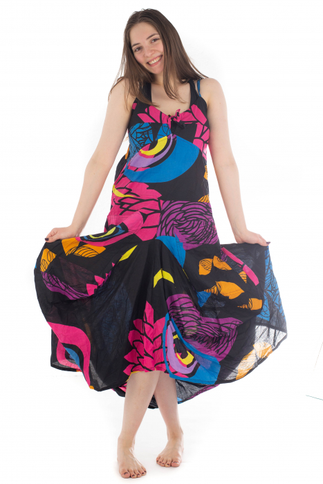 Rochie de plaja lejera - Multicolora HI1494A 5