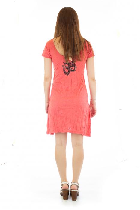 Rochie de vara cu print - Chakra 4 4