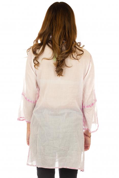 Rochie din bumbac organic - Cotton Candy [3]