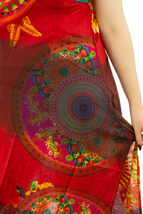 Rochie multicolora de plaja - Rosie [3]