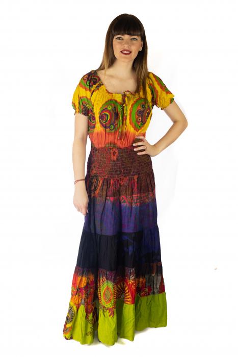 Rochie multicolora - Summer mix HI2897 0
