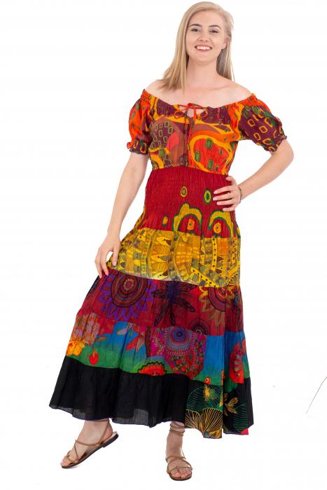 Rochie multicolora -  Summer Mix19 HI2897A [1]