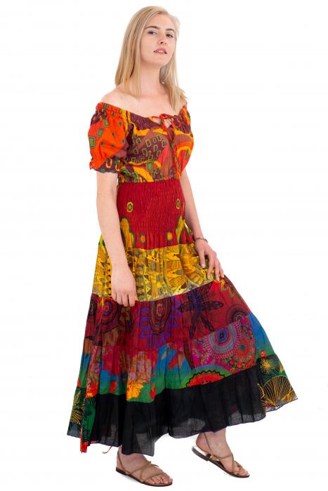 Rochie multicolora -  Summer Mix19 HI2897A [2]