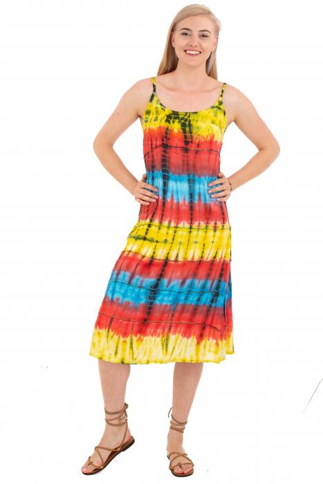 Rochie lejera Tie-Dye - Rainbow [1]