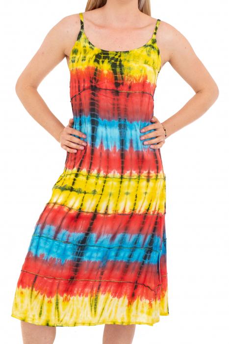 Rochie lejera Tie-Dye - Rainbow [0]