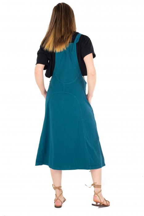 Rochie sarafan dama lunga - Albastru deschis [3]
