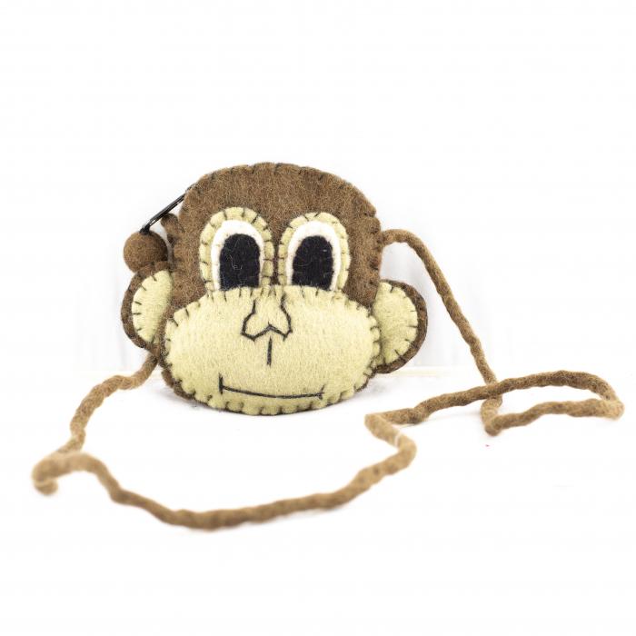 Geanta de umar din feltru - Monkey 0