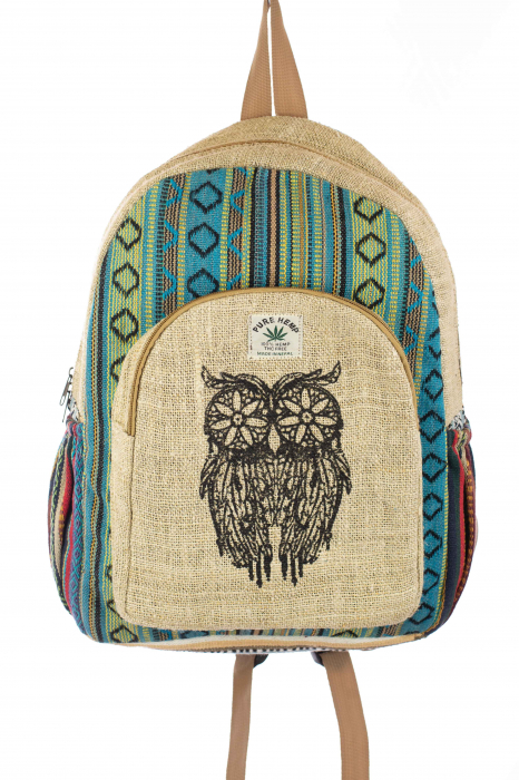 Rucsac din canepa si bumbac - OWL 3 0