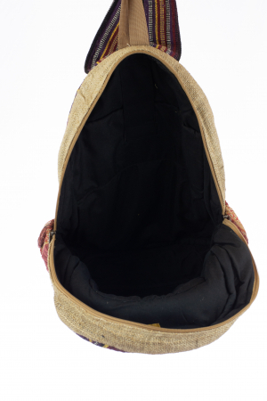 Rucsac din canepa si bumbac - Buddha Head [5]