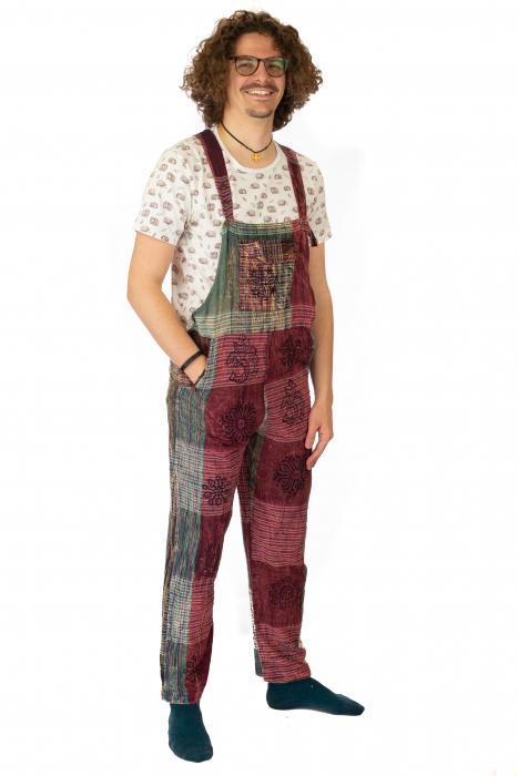 Salopeta tip pantaloni model 1 - Visiniu [2]