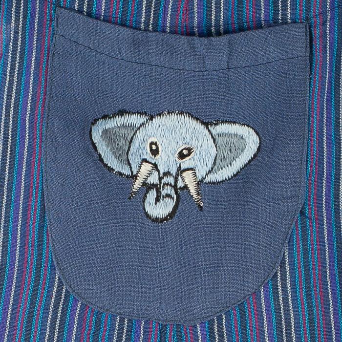 Salopeta colorata de copii - Elefant M5 [1]