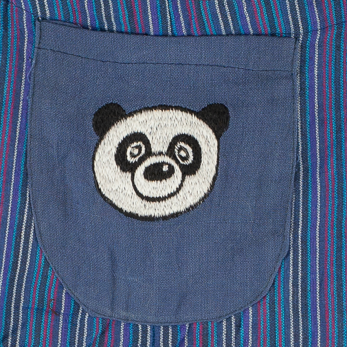 Salopeta colorata de copii - Panda M6 1
