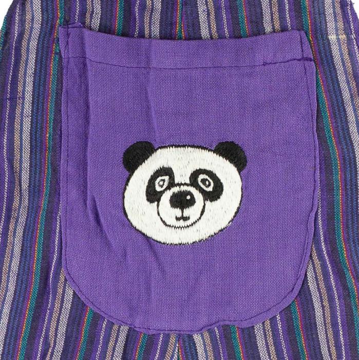 Salopeta colorata de copii - Panda M22 1