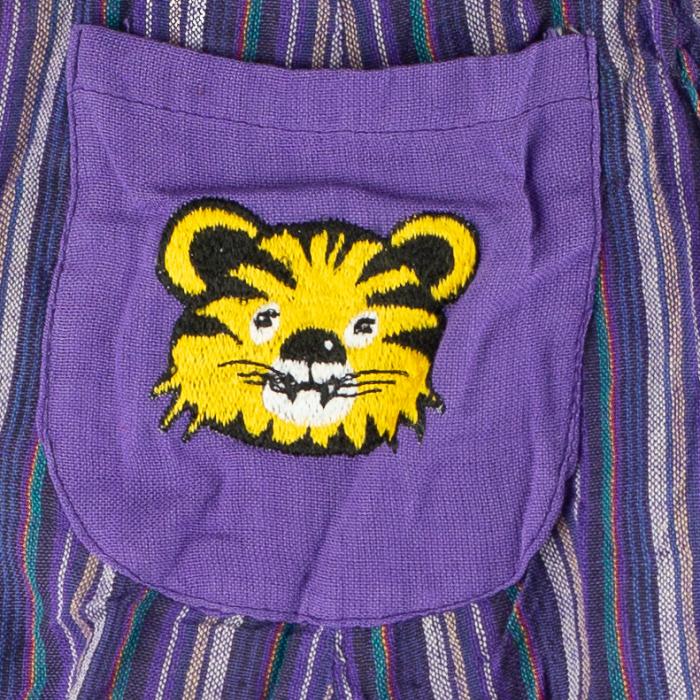 Salopeta colorata de copii - Tigru M18 1