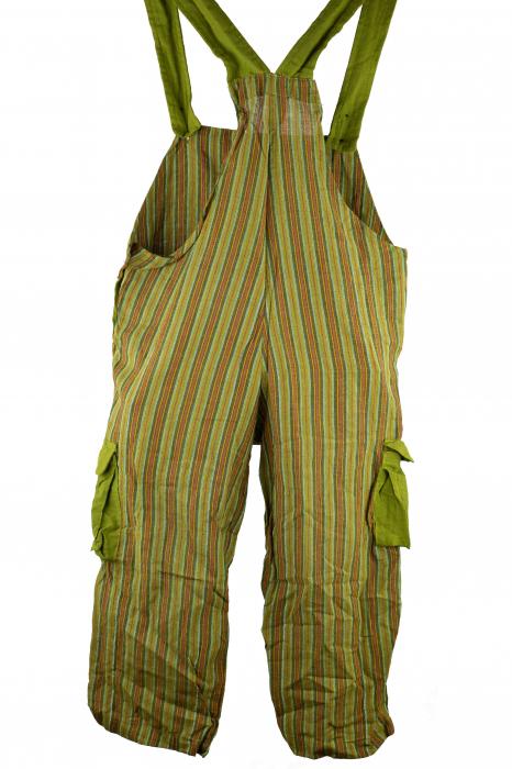 Salopeta colorata de copii cu buzunare- Elefant M1 2
