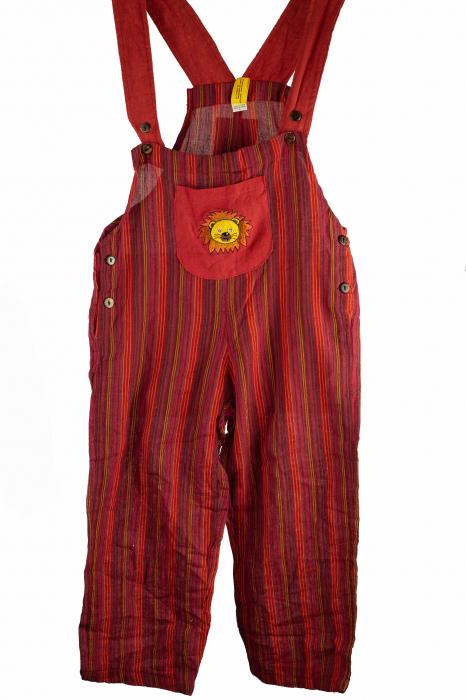 Salopeta colorata de copii - Leu M3 0