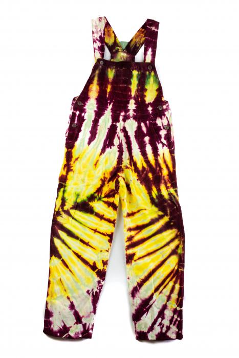 Salopeta de copii - Tie Dye - Model 27 0