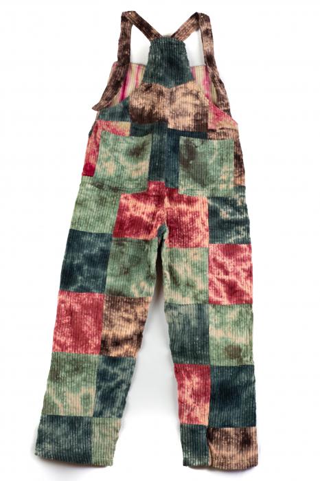 Salopeta de copii - Tie Dye - Model 30 1