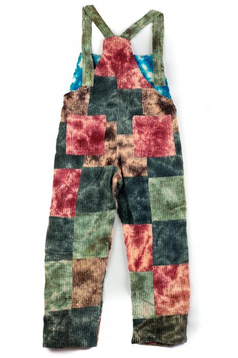 Salopeta de copii - Tie Dye - Model 36 1