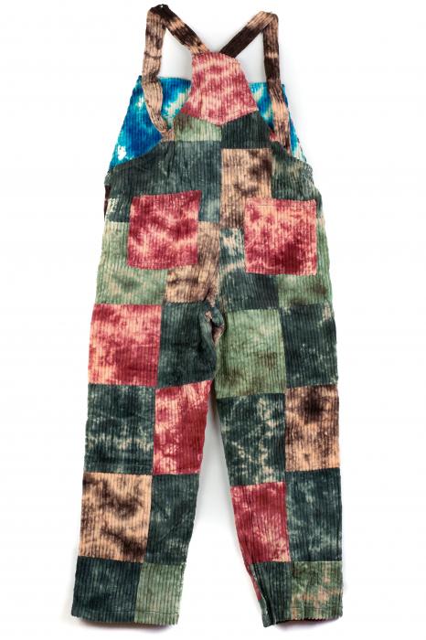 Salopeta de copii - Tie Dye - Model 38 1