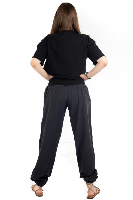 Pantaloni cu talie elastica - Mushroom [3]