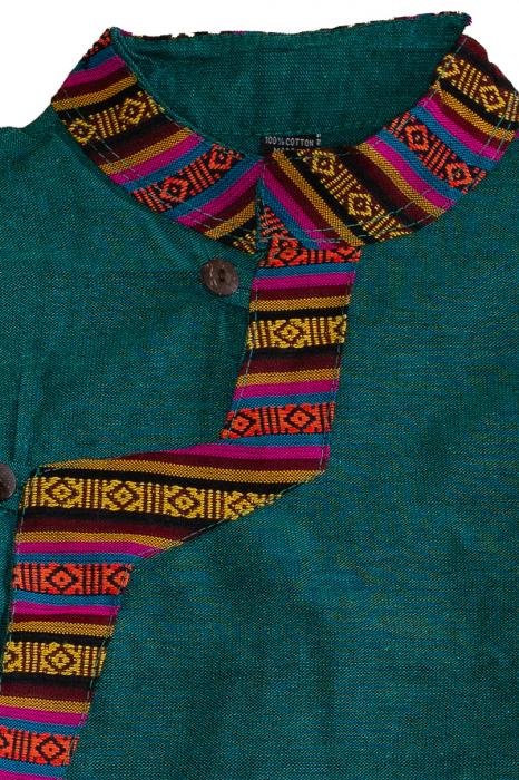 Set salvari si bluza pentru copii - Turcoaz 1