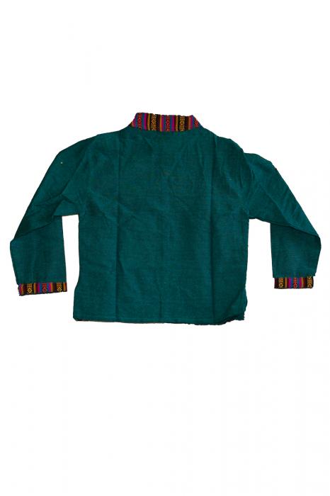 Set salvari si bluza pentru copii - Turcoaz 2